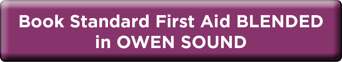 Book Blended Standard First Aid in Owen Sound NOW